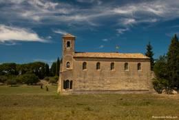 Die ab dem Jahr 1806 erbaute evangelische Kirche von Lourmarin