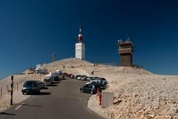 Der Gipfel des Mont Ventoux