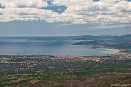 Ausblick auf die Bucht vor Saint-Raphaël und Fréjus