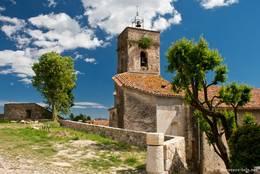Die Gemeindekirche Saint-Barthélémy von Montauroux