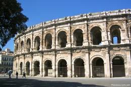 Die antike Arena von Nîmes