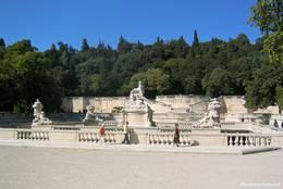 Eingang zu den Jardins de la Fontaine