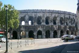 Das römische Amphitheater bot in der Antike Platz für bis zu 25.000 Menschen