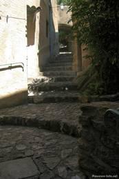 Treppe in der Altstadt von Nyons