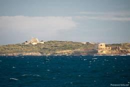 Festungen am westlichen Ende von Porquerolles und auf der kleinen vorgelagerten Île du Petit Langoustier