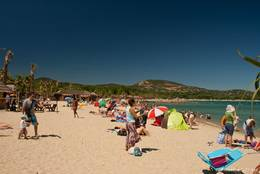 Der Strand von Port Grimaud