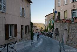Die Rue Victor Léon in Ramatuelle