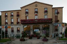 Das Rathaus und das Fremdenverkehrsamt in Sisteron