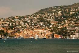 Ausblick von Saint-Jean-Cap-Ferrat auf Villefranche-sur-Mer