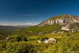 Ausblick von Saint-Jurs in nördliche Richtung