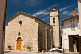 Die Gemeindekirche Stain-Paul aus dem 18. Jahrhundert