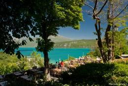 Restaurant mit fantastischer Aussicht in Sainte-Croix-du-Verdon