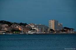 Sainte-Maxime am Abend