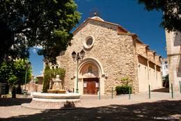 Die Kirche von Sainte-Maxime