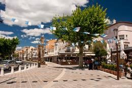 Restaurants und Cafés im Zentrum von Sainte-Maxime