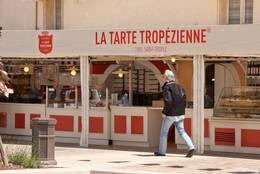 Die Geschäftsfiliale von La Tarte Tropézienne in Sainte-Maxime