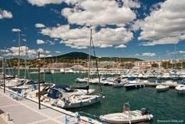 Der Yachthafen von Sainte-Maxime