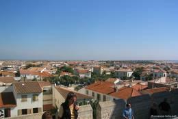 Ausblick über Saintes-Maries-de-la-Mer