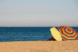 Strand an der Côte d'Azur