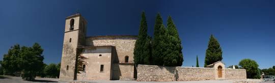 Seitliche Ansicht der Kirche Saint-Denis