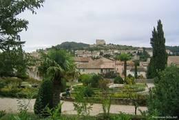 Blick über den Ort Vaison-la-Romaine