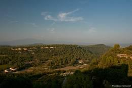 Ausblick von Venasque Richtung Mont Ventoux