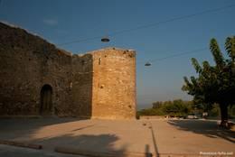Die alte Stadtmauer des Dorfes