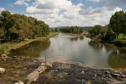 Der Fluss Verdon bei Vinon-sur-Verdon