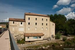 Moulin de Saint André, eine ehemalige Mühle, am Ufer der Verdon