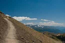 Wanderweg im Nationalpark Mercantour